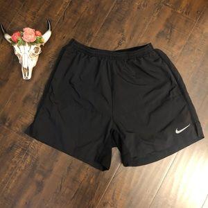 Nike dri-fit running black shorts